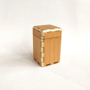 wooden box beech