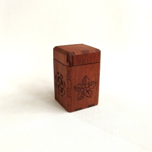 wooden box mahogany