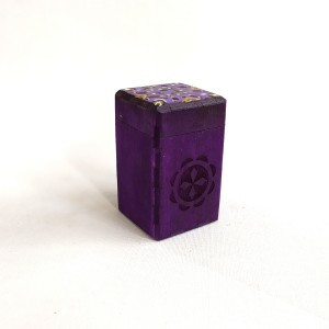colored box purple