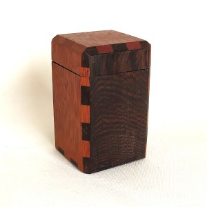 wooden box wenge/merbau