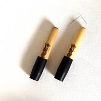 boxwood / ebony / dragon etch capsule stem - medium
