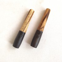 philippine ebony / zebrano capsule stem - medium