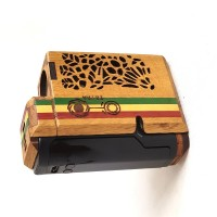 TETRA P80 - oak/rasta inlay/black